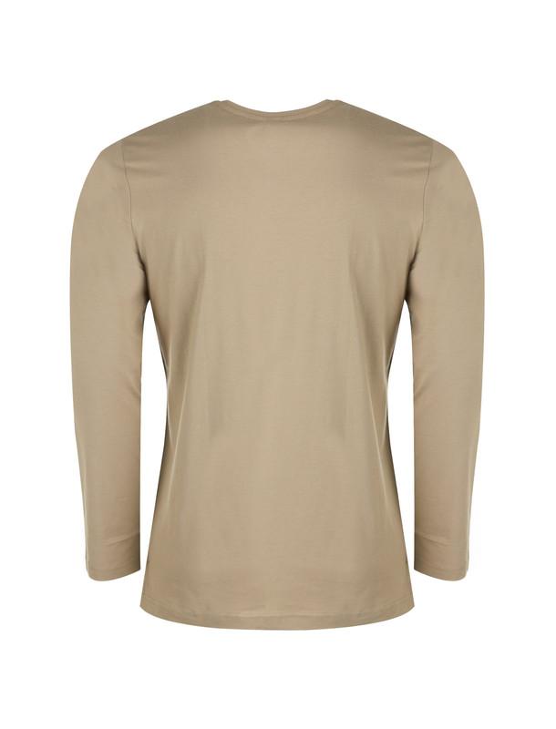 تی شرت نخی آستین بلند مردانه - جامه پوش آرا