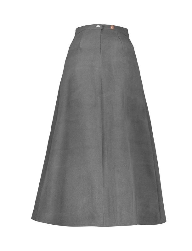 دامن پشمی بلند زنانه - عاطفه نادری