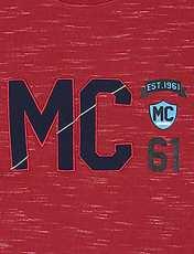 تی شرت نخی آستین بلند پسرانه MC - زرشکي - 3