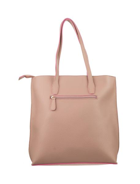 کیف دوشی روزمره زنانه - صورتي - 1