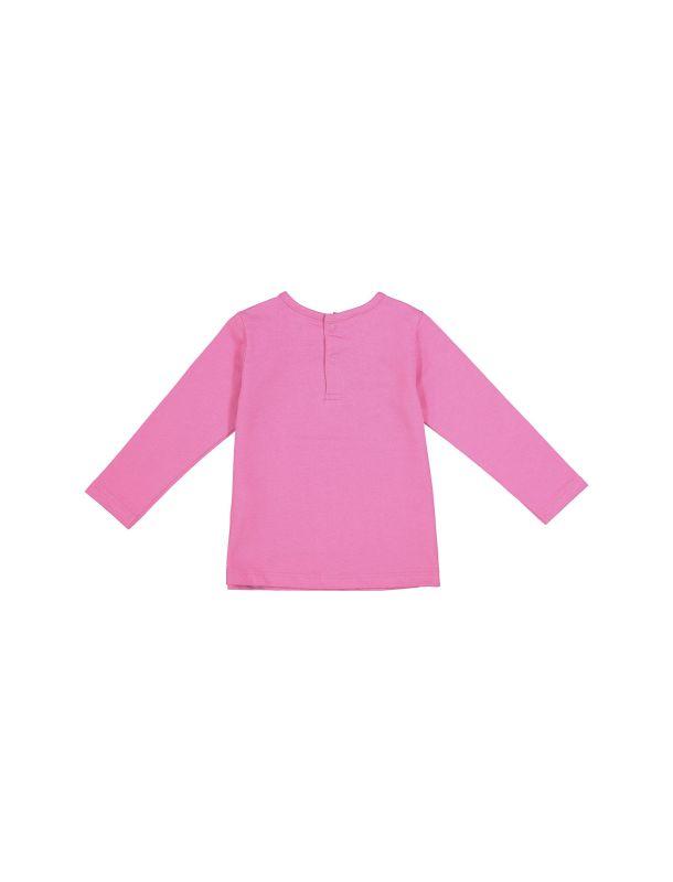 تی شرت نخی یقه گرد نوزادی دخترانه - ایدکس