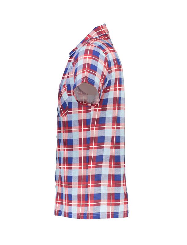 پیراهن و شلوارک راحتی نخی مردانه