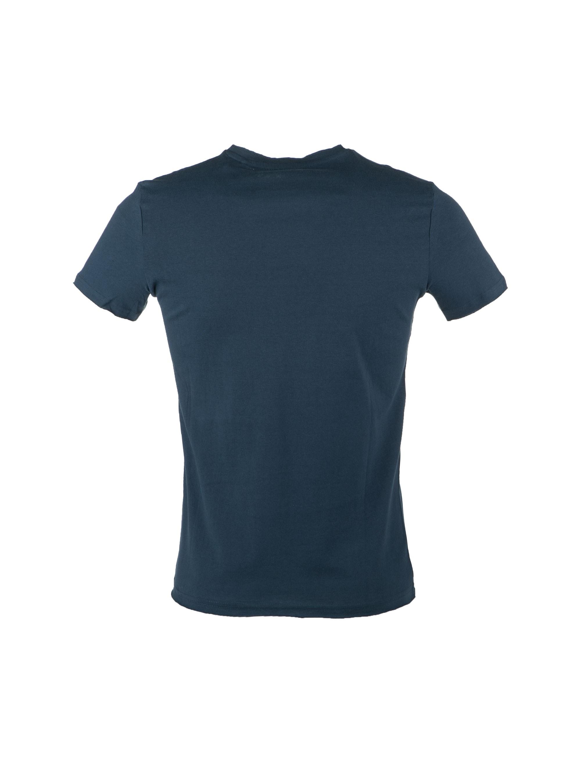 تی شرت نخی یقه گرد مردانه - یوپیم - آبي - 2