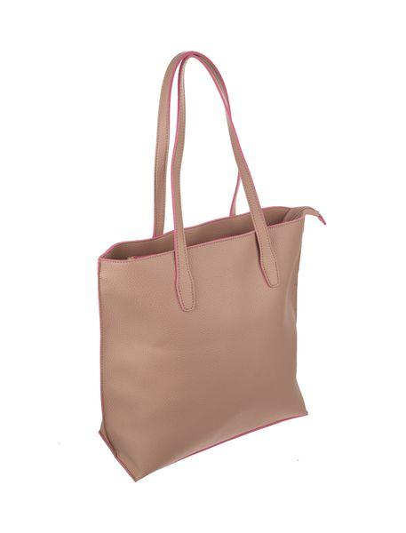کیف دوشی روزمره زنانه - صورتي - 4