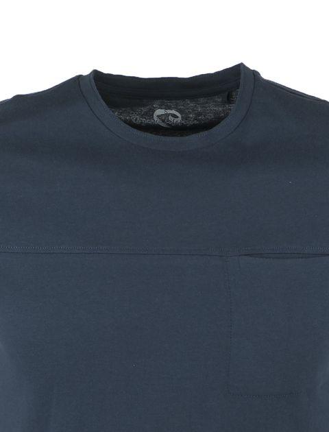 تی شرت نخی یقه گرد مردانه - یوپیم - آبي - 3