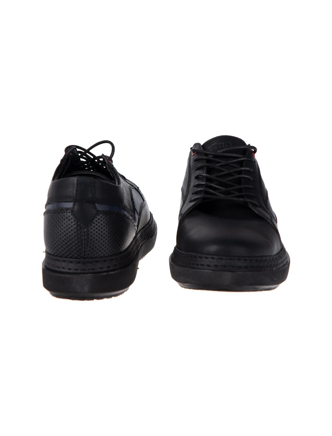 کفش کتانی چرم مردانه - پاتن جامه