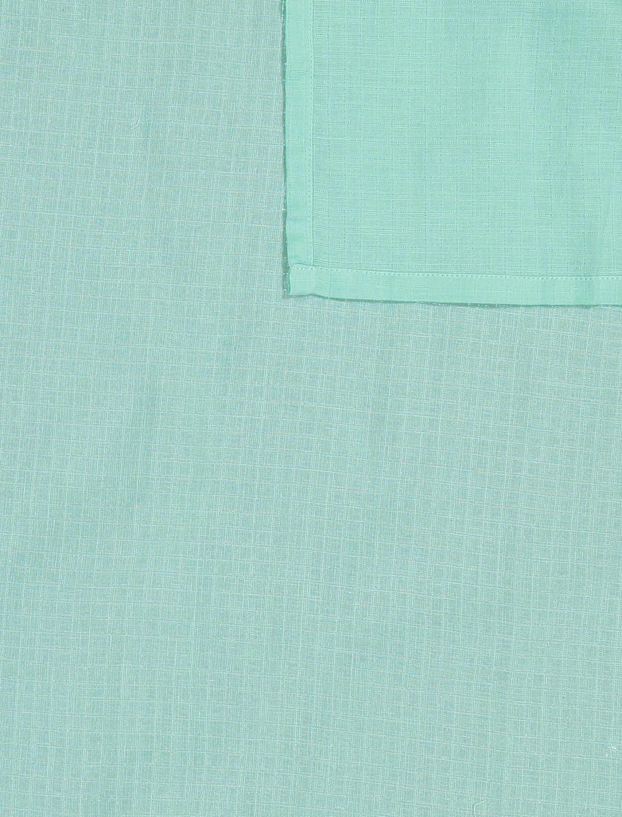 ملحفه نوزادی بسته 3 عددی - ارکسترا - سفيد/سبزآبي/چندرنگ - 3