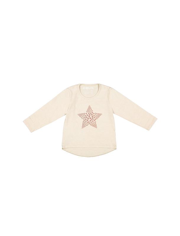 تی شرت نخی آستین بلند دخترانه - سون پون