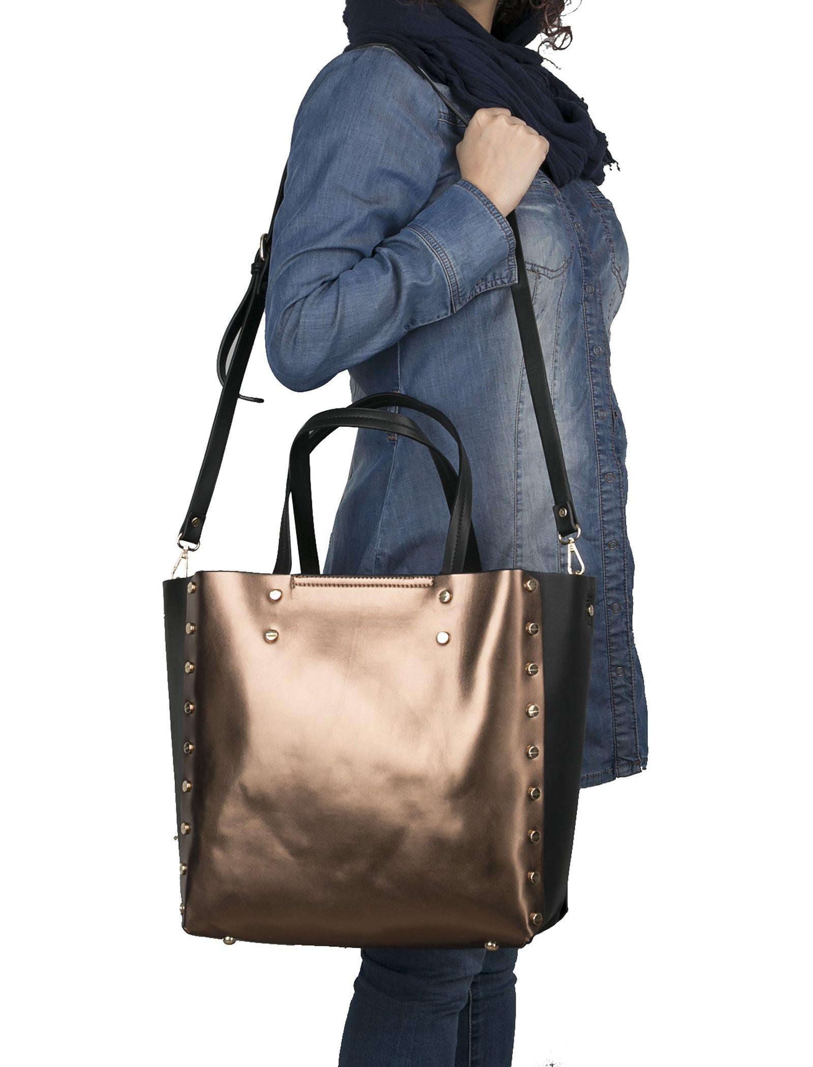 کیف دوشی روزمره زنانه - شانتال تک سایز - قهوه اي - 2