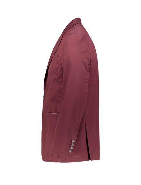 کت تک غیر رسمی نخی مردانه - زرشکي - 2