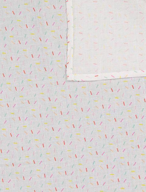 ملحفه نوزادی بسته 3 عددی - ارکسترا - سفيد/سبزآبي/چندرنگ - 12