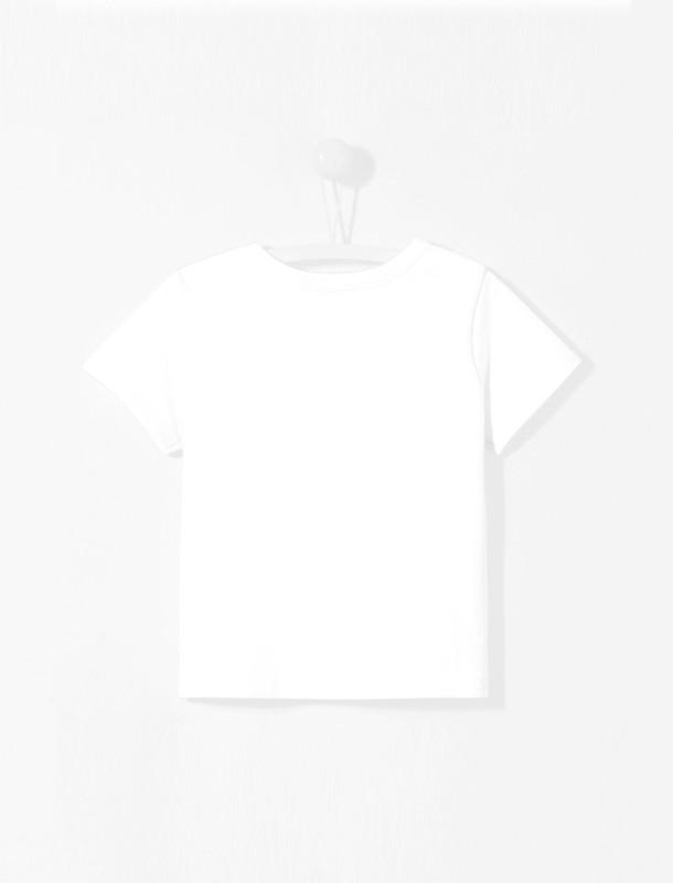 تی شرت نخی ساده نوزادی پسرانه Loukas - جاکادی