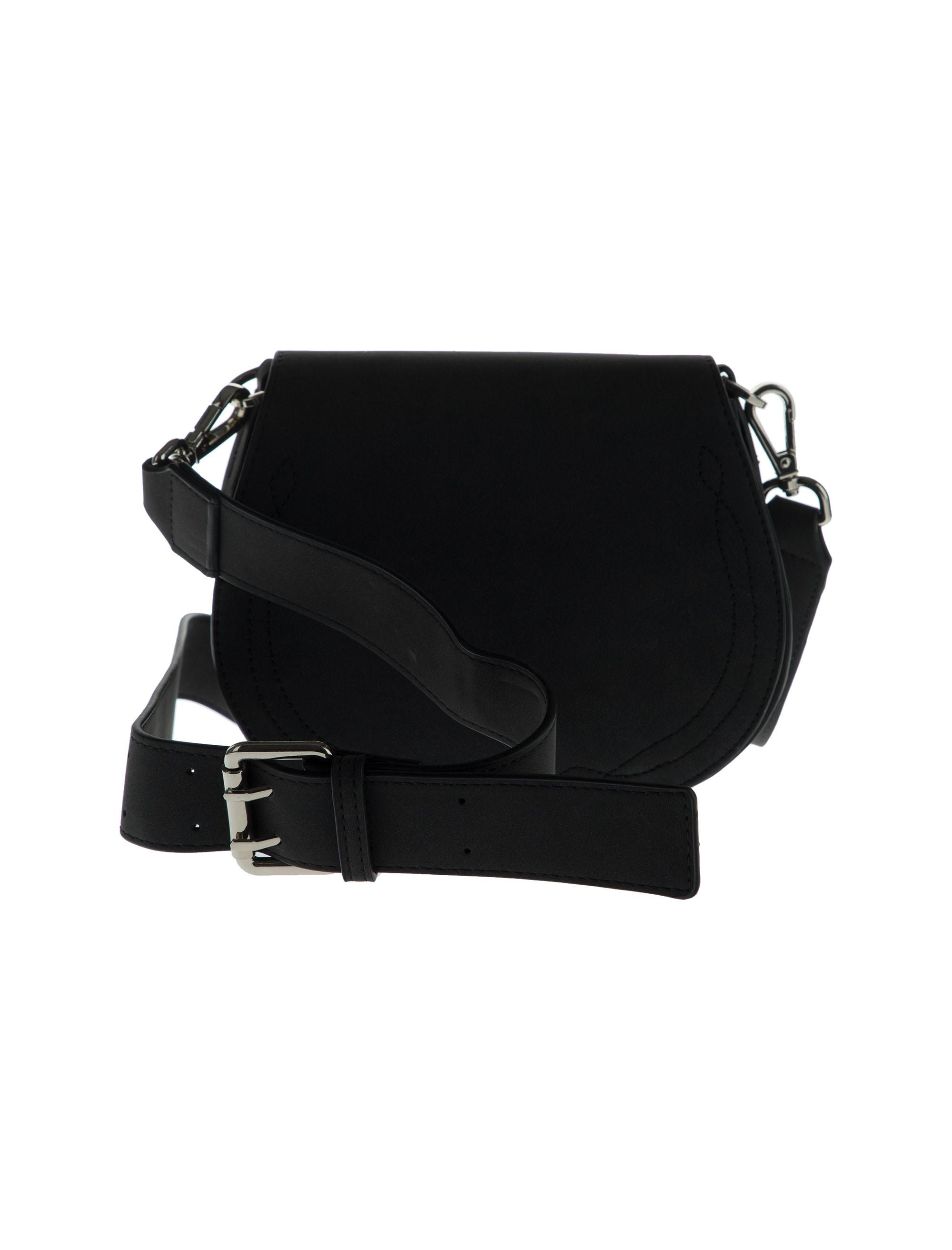 کیف دوشی روزمره زنانه - آبجکت تک سایز - مشکي - 3