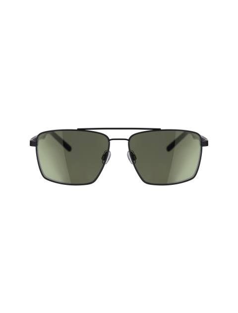عینک مستطیلی مردانه - مشکي - 1