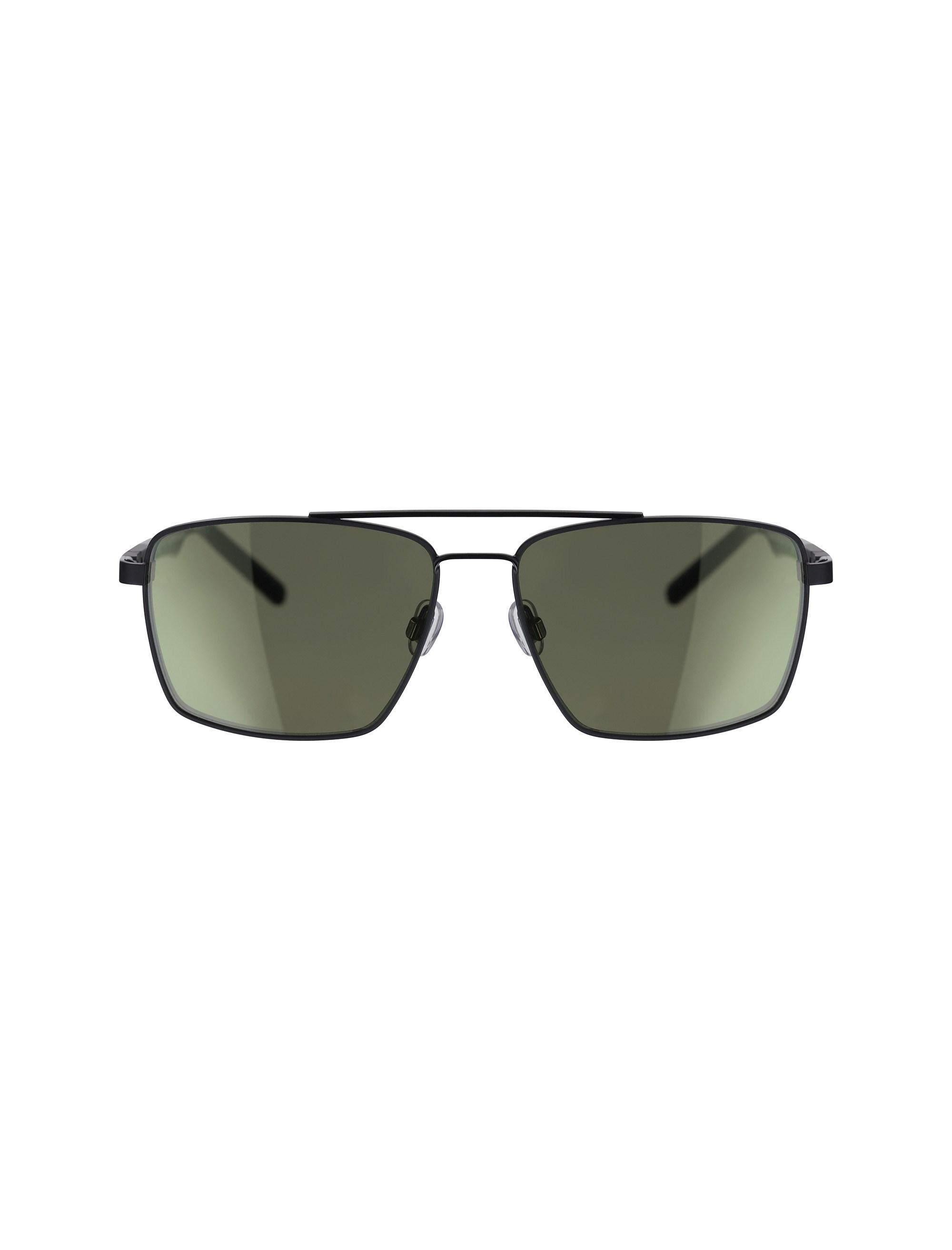 عینک مستطیلی مردانه - اسپاین - مشکي - 1