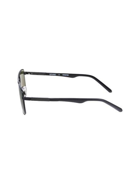 عینک مستطیلی مردانه - مشکي - 2