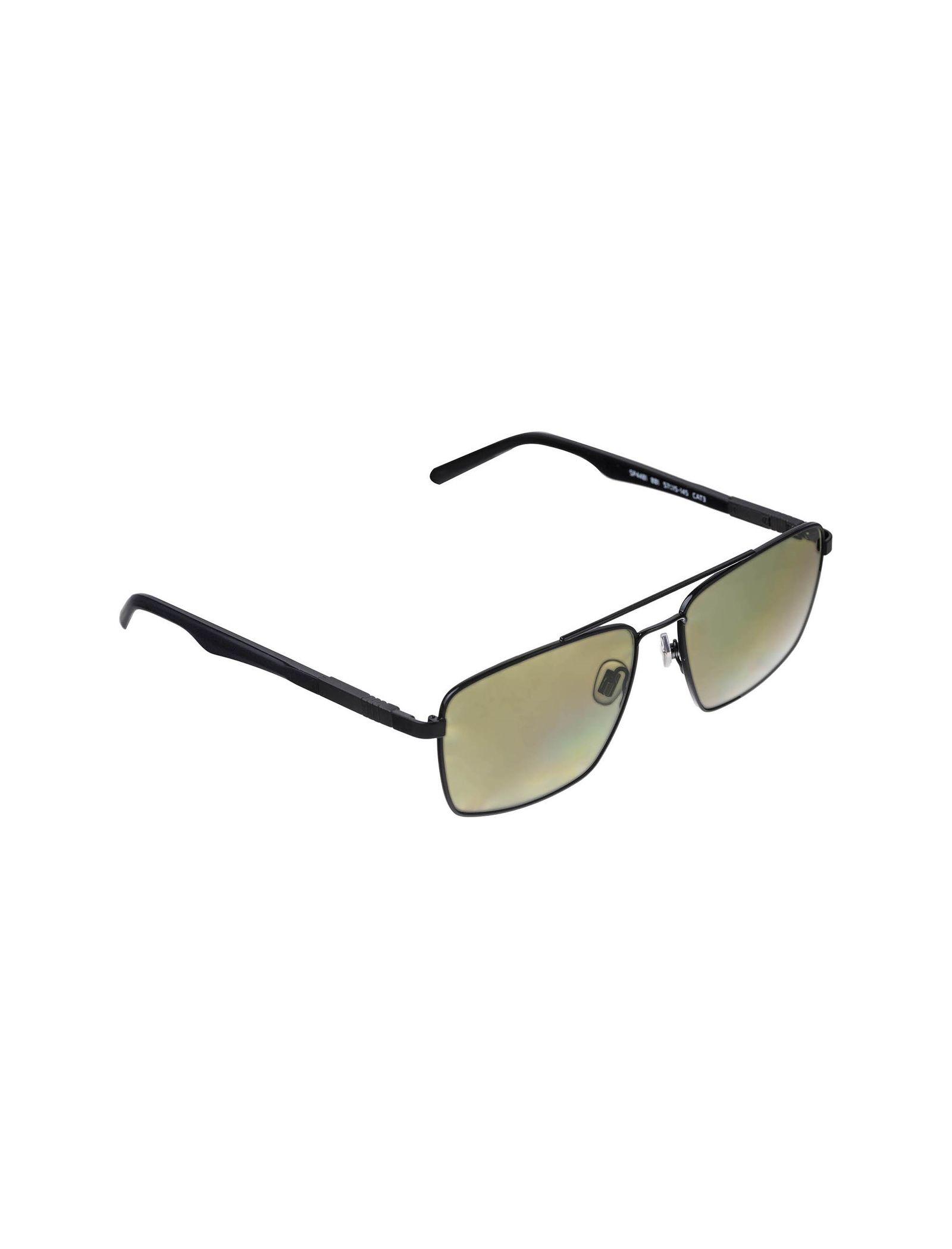 عینک مستطیلی مردانه - اسپاین - مشکي - 4