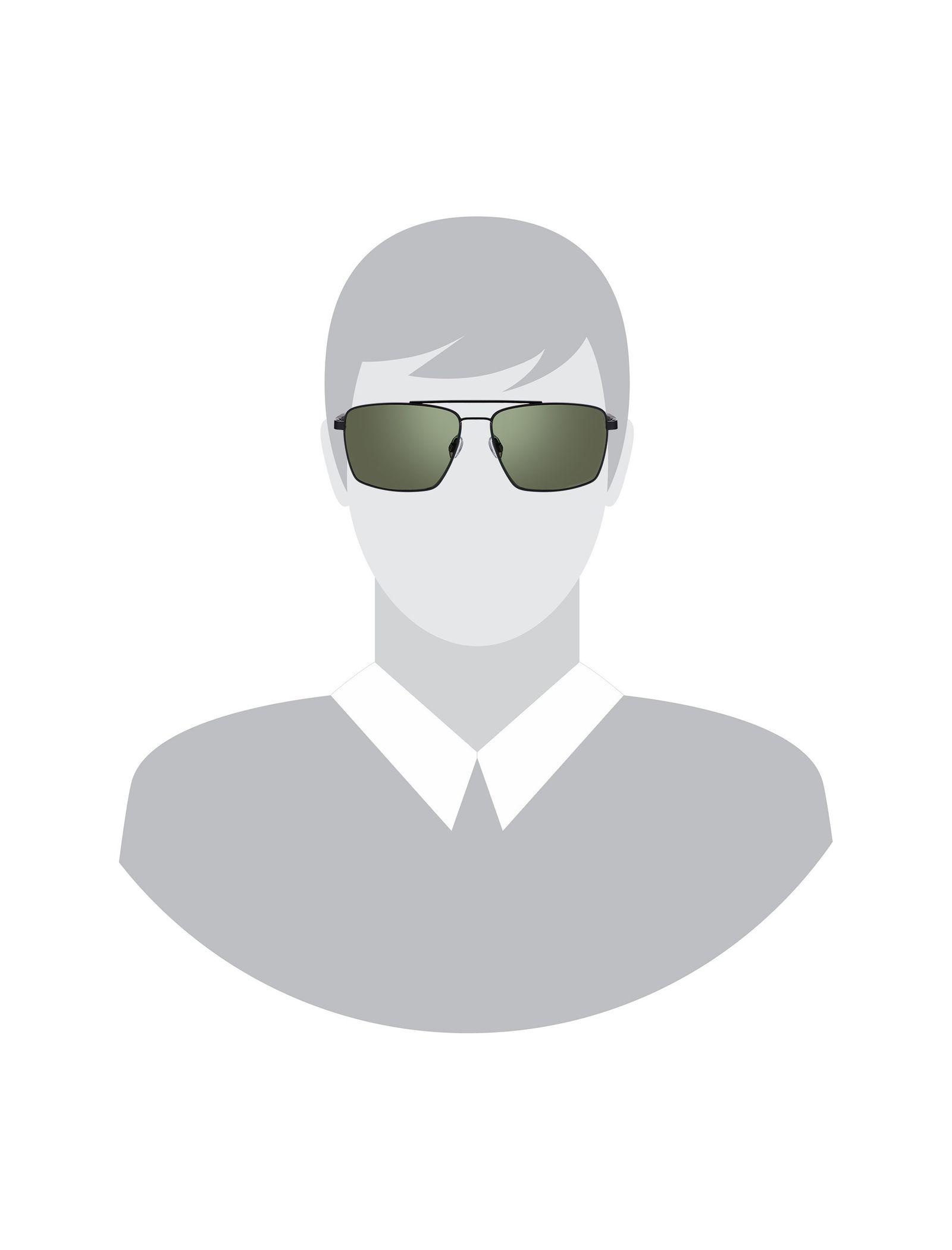 عینک مستطیلی مردانه - اسپاین - مشکي - 5