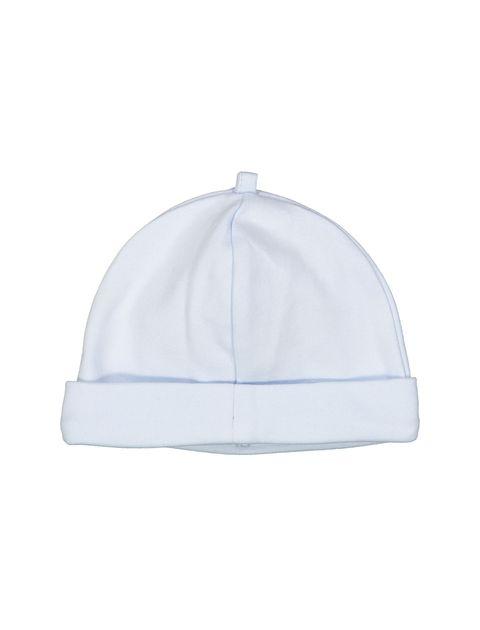 کلاه نخی نوزادی پسرانه - آبي روشن - 2