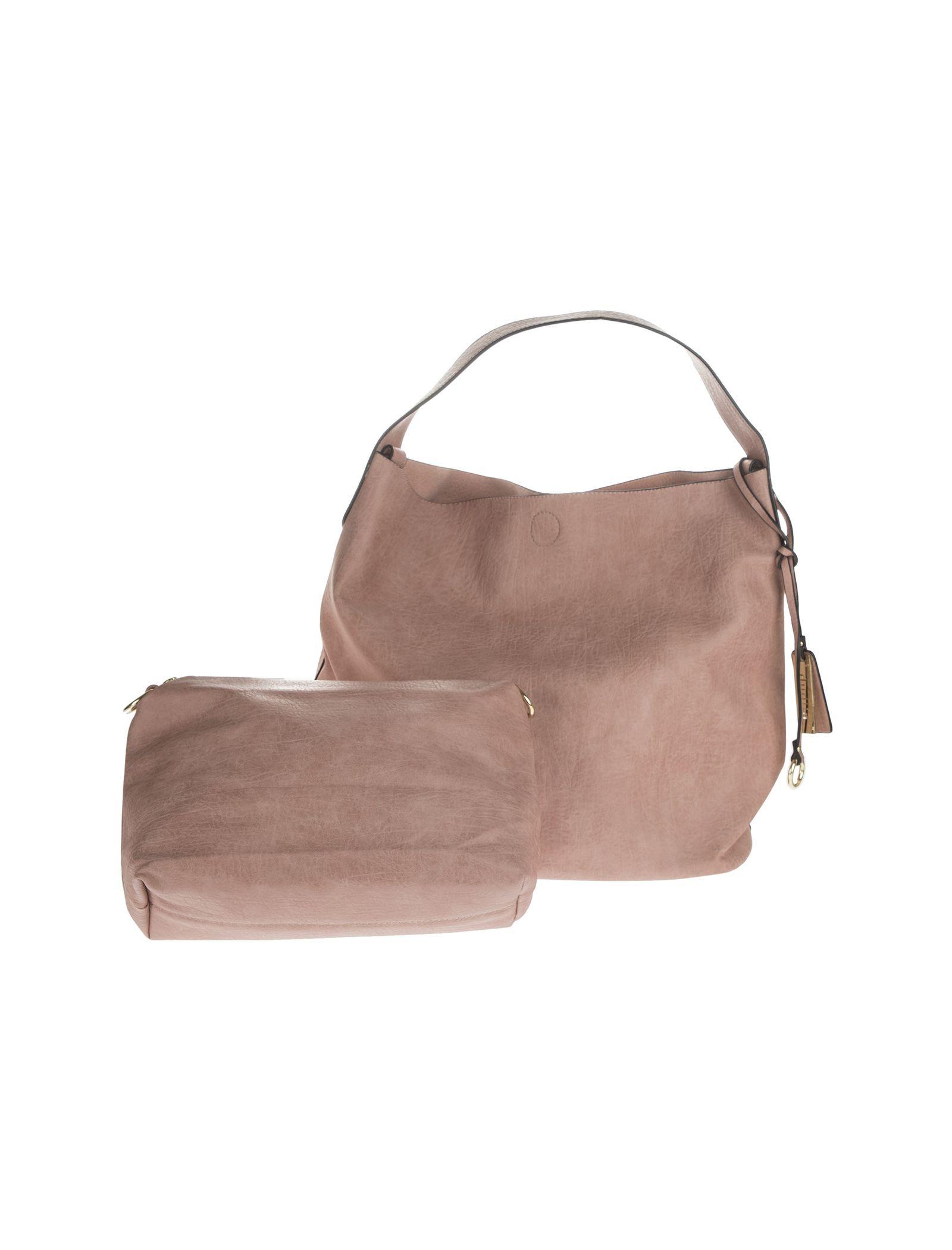 کیف دستی روزمره زنانه - دادلین تک سایز - صورتي - 1