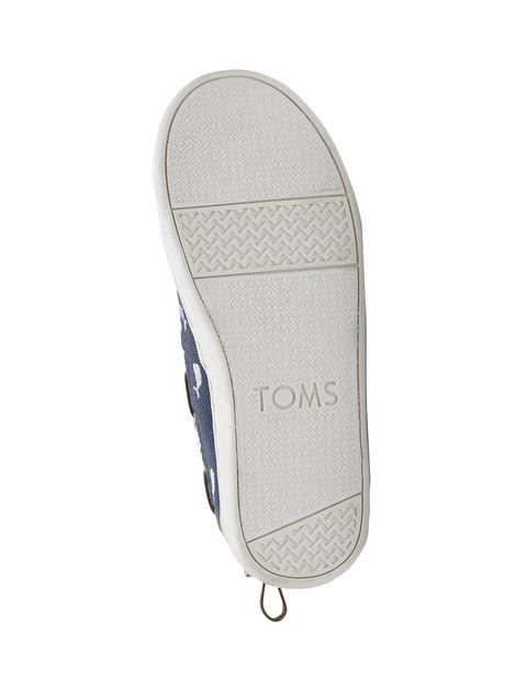 کفش تخت پارچه ای بچگانه - تامز - سرمه اي - 3