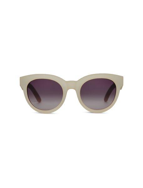 عینک آفتابی گربه ای زنانه Floremtin - سفيد - 1