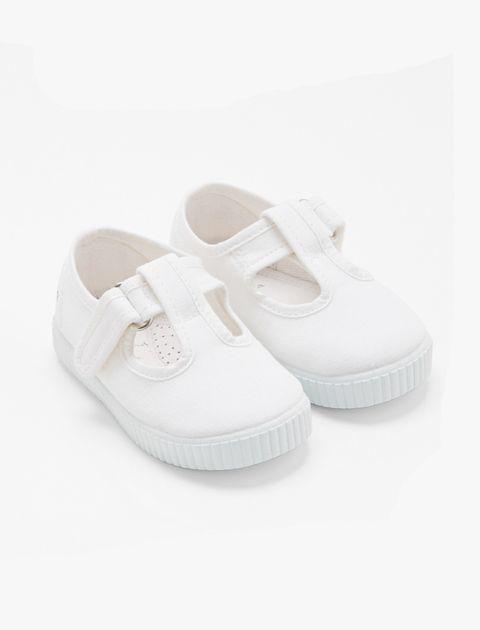 کفش چسبی دخترانه Elipse - سفيد - 4
