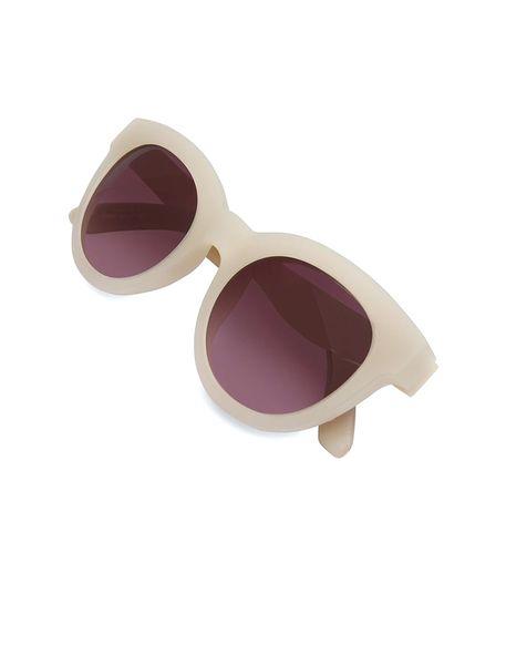 عینک آفتابی گربه ای زنانه Floremtin - سفيد - 2
