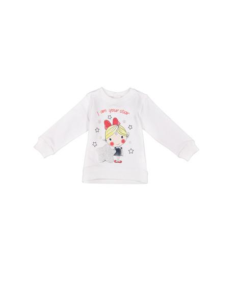 تی شرت نخی آستین بلند نوزادی دخترانه - بلوکیدز