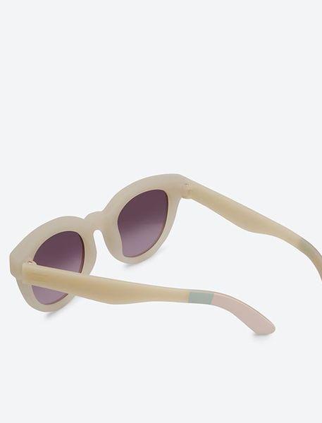 عینک آفتابی گربه ای زنانه Floremtin - سفيد - 3