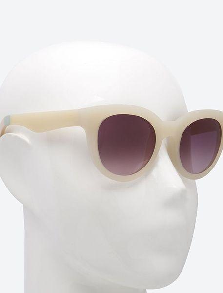 عینک آفتابی گربه ای زنانه Floremtin - سفيد - 4