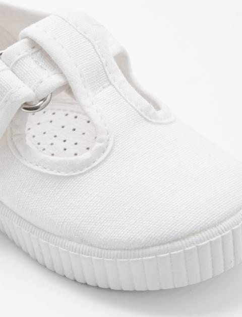 کفش چسبی دخترانه Elipse - سفيد - 6