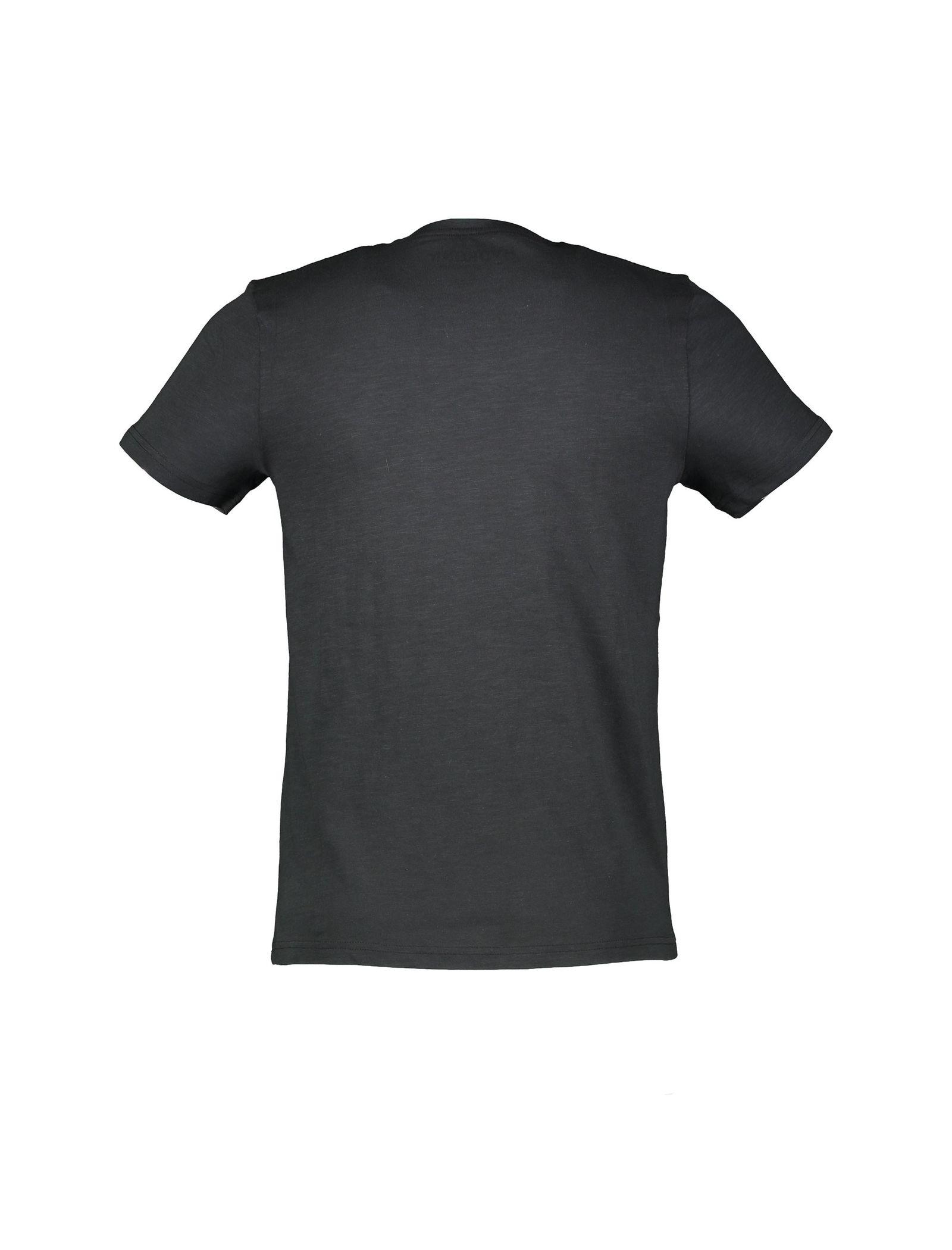 تی شرت نخی پسرانه - یوپیم - مشکي - 2
