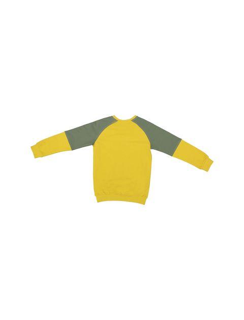 پیراهن و شلوار پسرانه - پیانو - زرد - 3