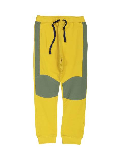 پیراهن و شلوار پسرانه - زرد - 4