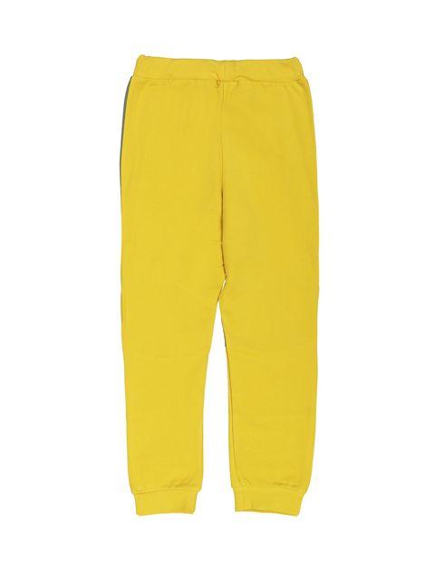 پیراهن و شلوار پسرانه - زرد - 5