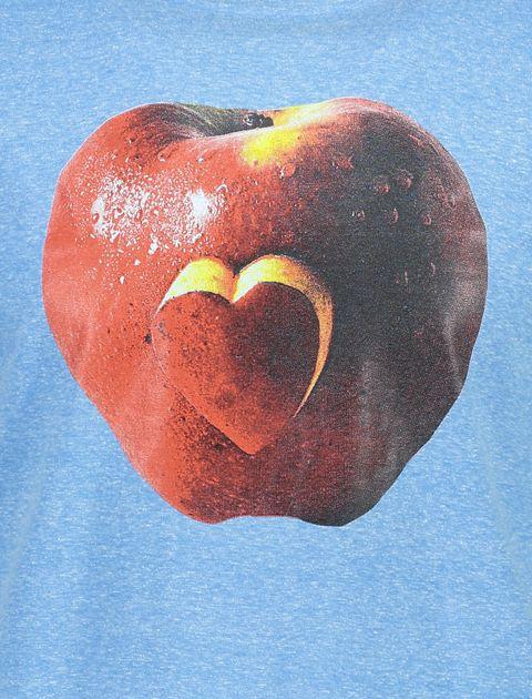 تی شرت یقه گرد مردانه - آبي - 4