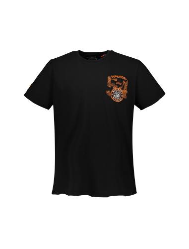 تی شرت نخی یقه گرد مردانه - سوپردرای