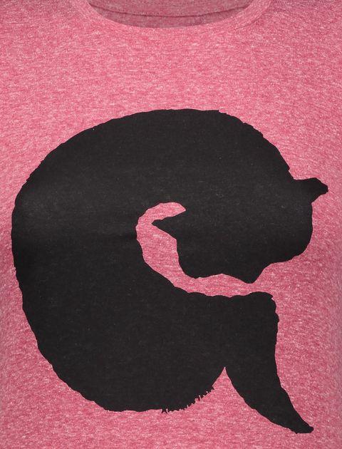 تی شرت یقه گرد زنانه - متی - قرمز - 4