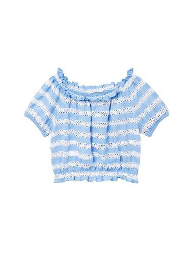 تی شرت یقه گرد دخترانه - مانگو