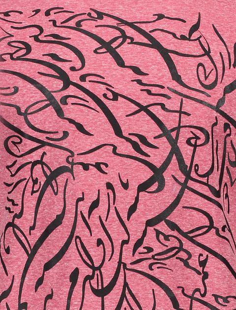 تی شرت یقه گرد مردانه - قرمز - 5