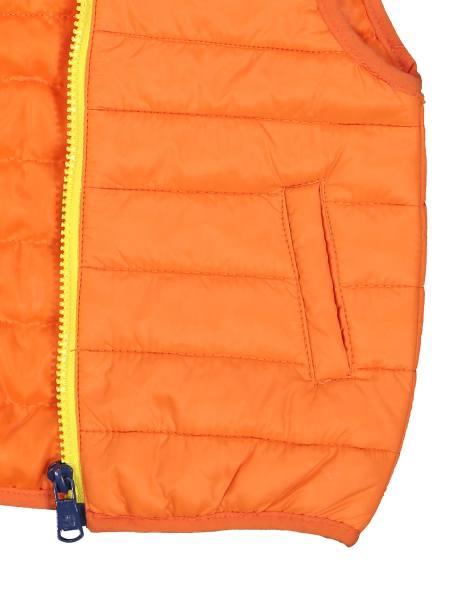 کاپشن آستین حلقه ای نوزادی پسرانه - نارنجي - 3