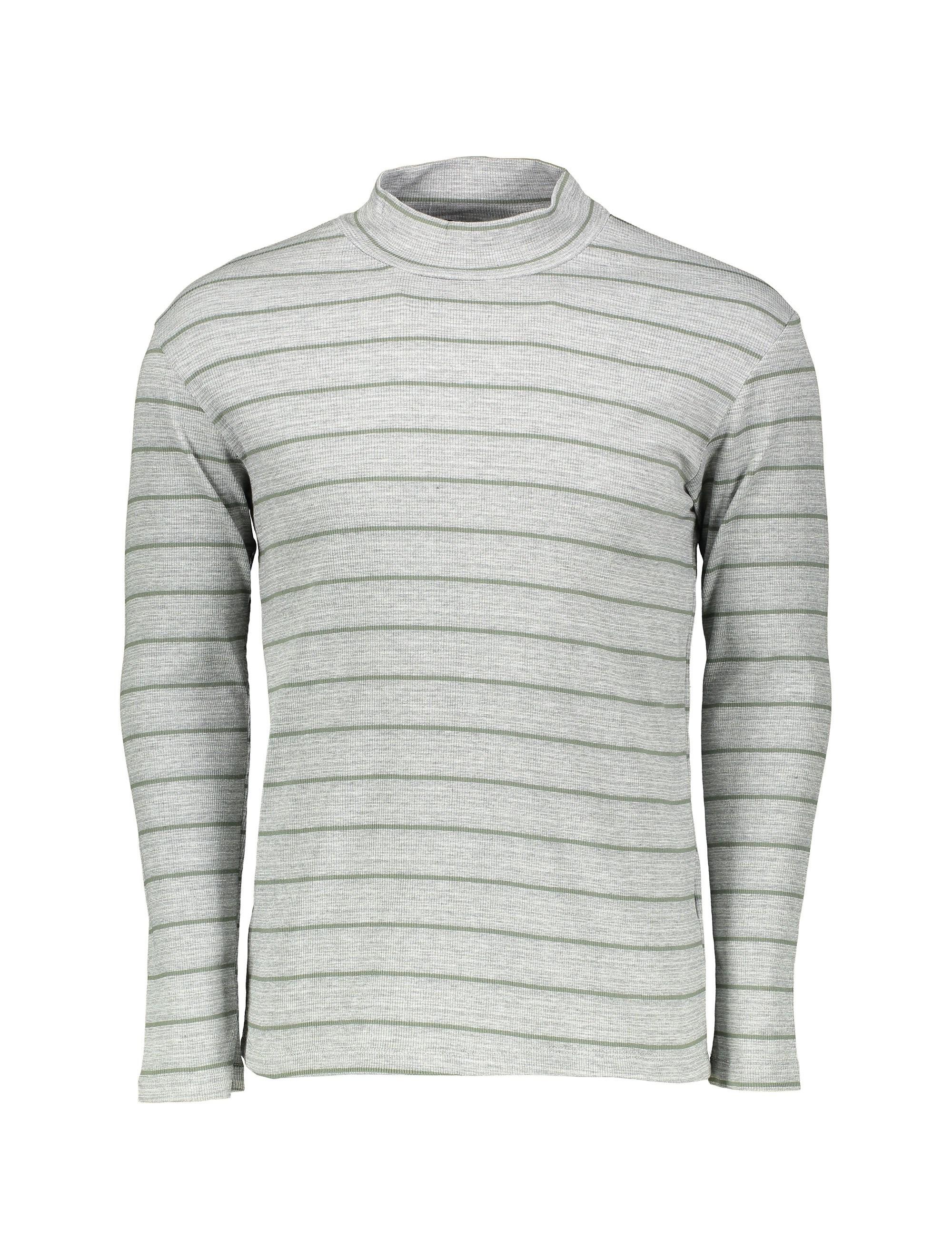 تی شرت نخی آستین بلند مردانه - رامکات