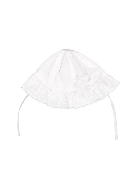 کلاه نخی ساده نوزادی دخترانه - ایدکس