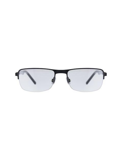 عینک طبی مستطیل مردانه - اسپاین - مشکي  - 1