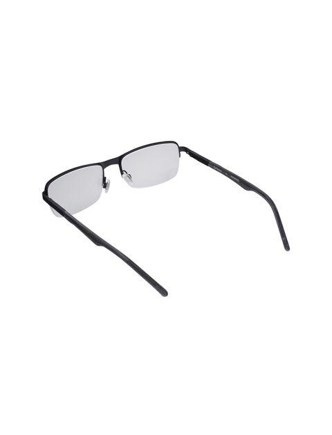 عینک طبی مستطیل مردانه - اسپاین - مشکي  - 3
