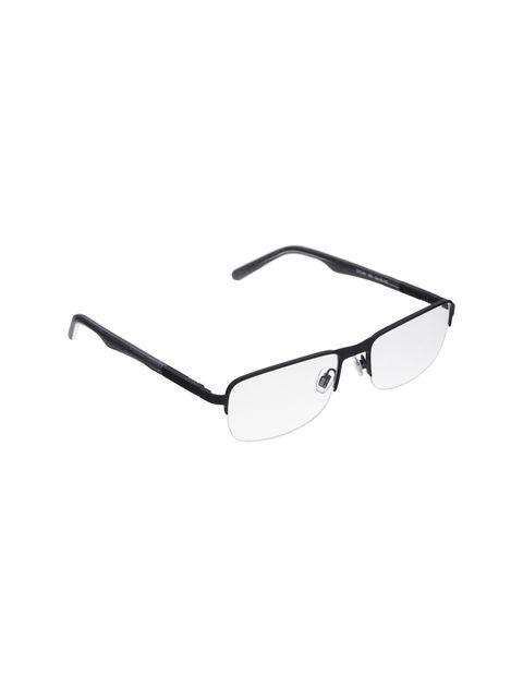 عینک طبی مستطیل مردانه - اسپاین - مشکي  - 4