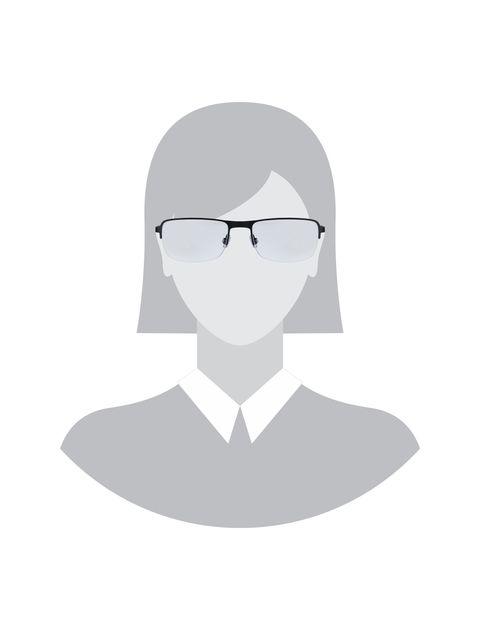 عینک طبی مستطیل مردانه - اسپاین - مشکي  - 5