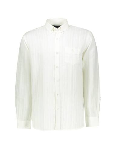 Men Cotton Long Sleeve Shirt