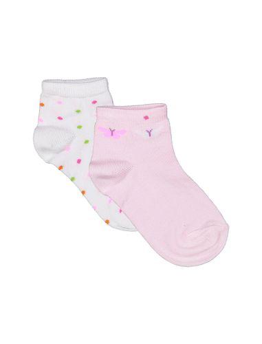 جوراب نخی دخترانه بسته 2 عددی - ایدکس